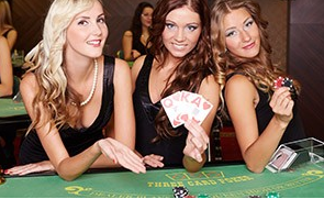 type of poker game: three card poker