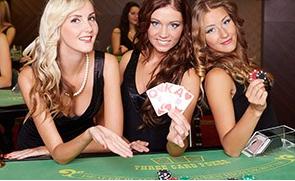 type of poker game:  three card poker